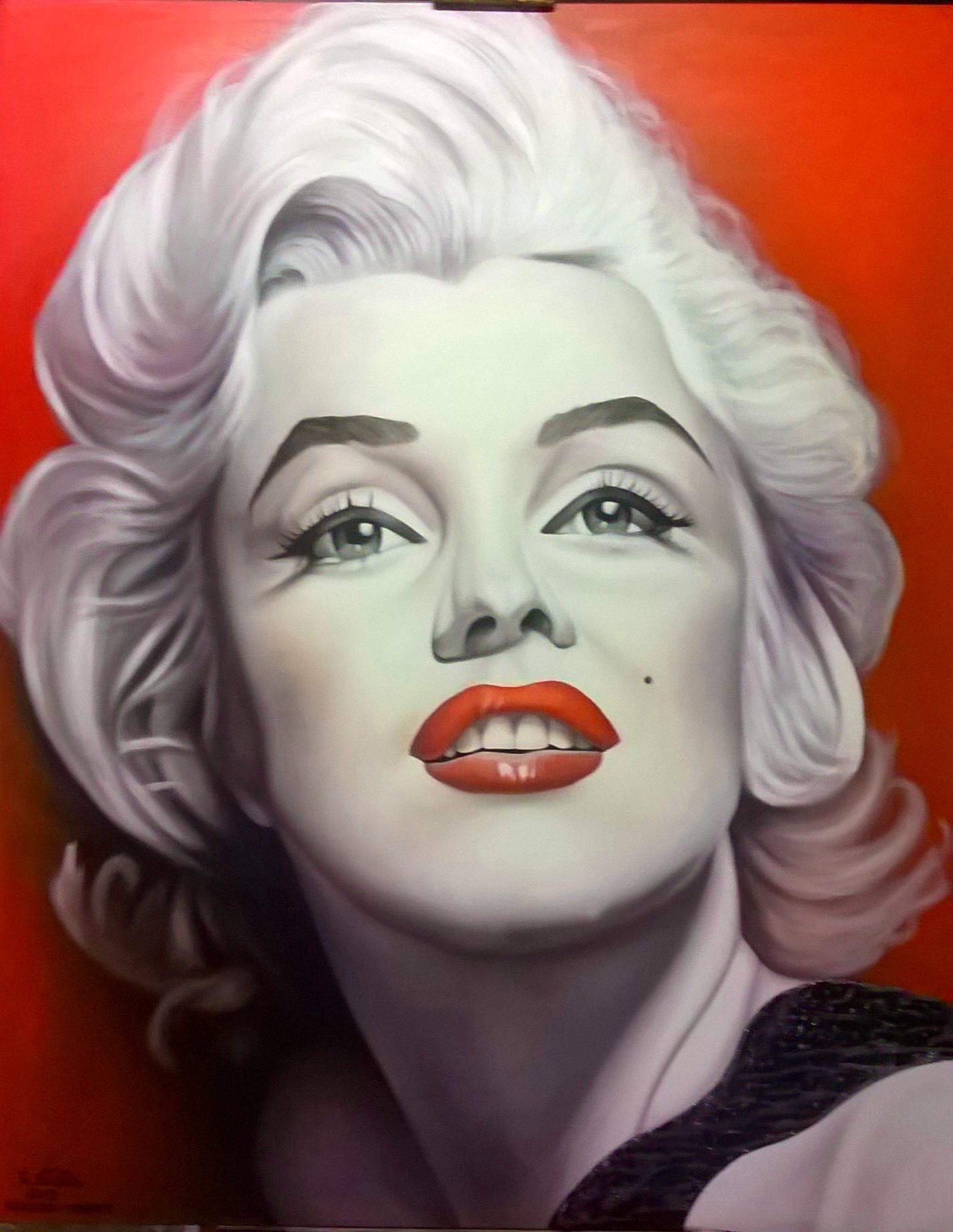 Galleria quadri di roccovitella | | Marilyn Monroe 100x120